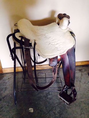 Picture of Boz Saddle, SOLD