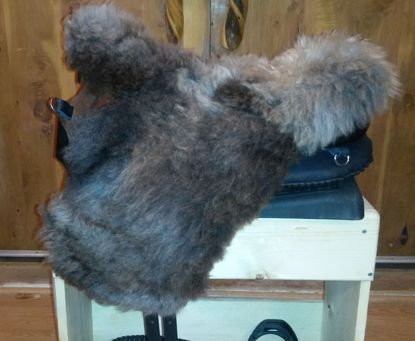 Picture of Ghost Fur Saddle